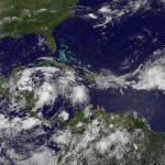 "Gulf of Mexico: After oil spill now Hurricane ""Alex""!"